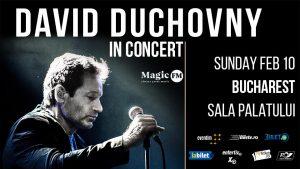 Concert David Duchovny la Bucuresti 2019