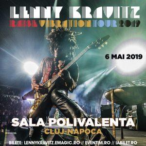 Concert Lenny Kravitz la Cluj-Napoca 2019