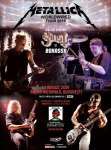 Concert Metallica la Bucuresti 2019
