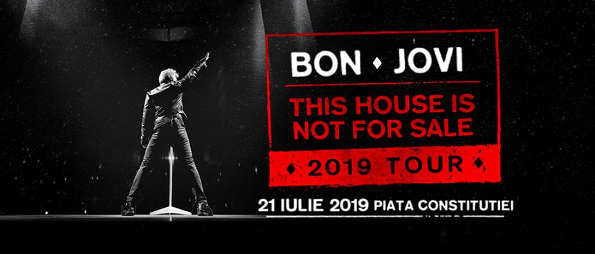 Concert Bon Jovi, Bucuresti, 21 iulie 2019