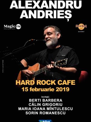 Alexandru Andries – în premieră la Hard Rock Cafe