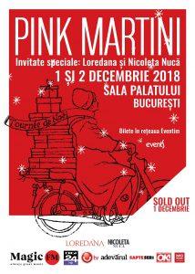 Concertul Pink Martini de pe 1 decembrie este sold out