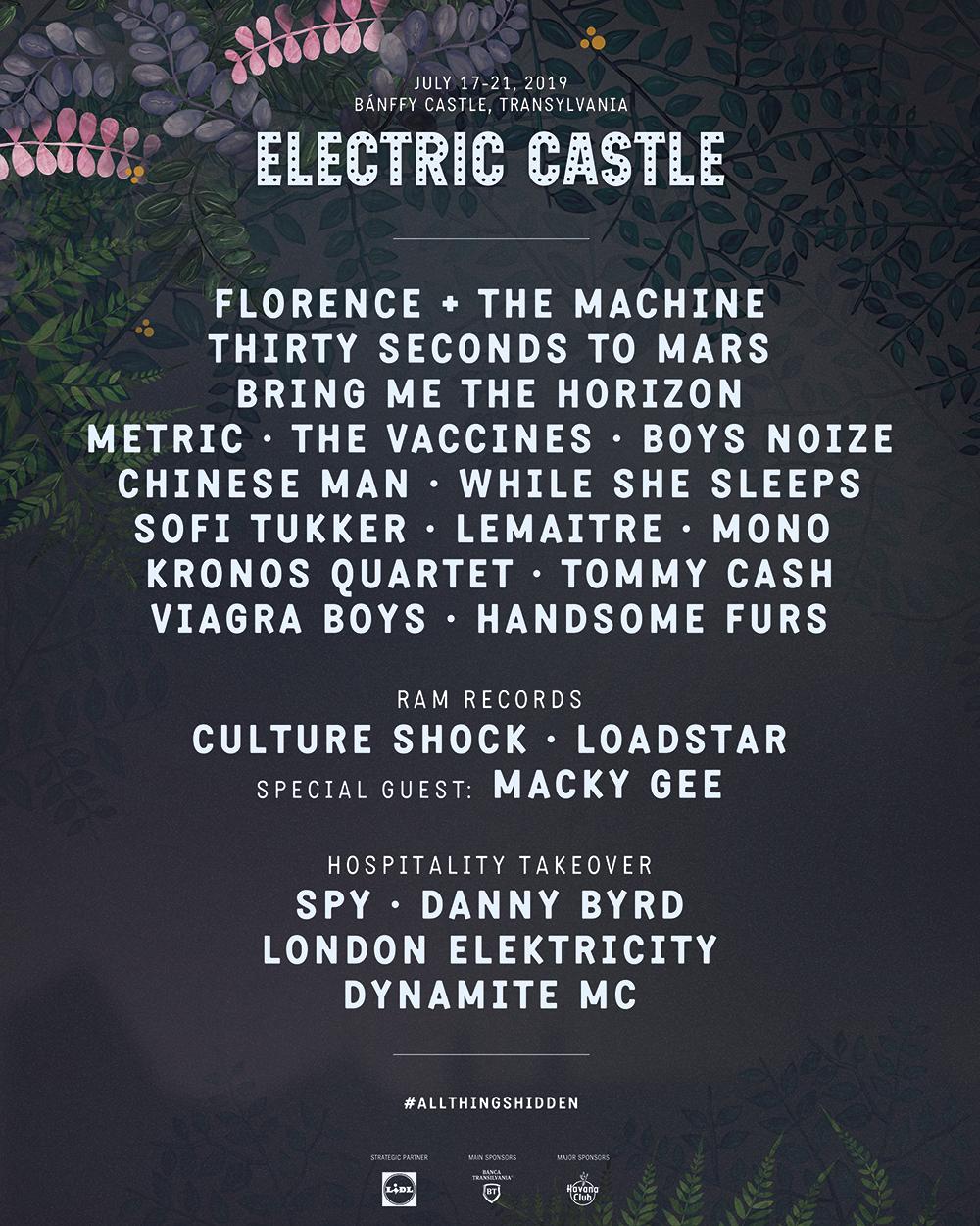 ELECTRIC CASTLE FESTIVAL 2019