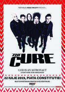 The Cure va concerta pentru prima dată în România, pe 22 iulie 2019, în Piaţa Constituţiei