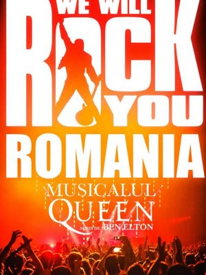 "Musicalul Queen – ""We Will Rock You"", 10 aprilie 2019 la Sala Palatului"