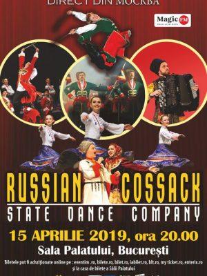 Cazacii Rusiei in Oradea, Constanta, Bucuresti, Iasi – 2019