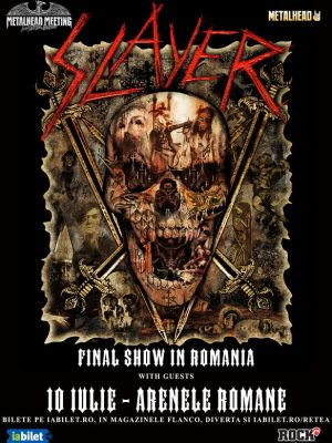 SLAYER – FINAL Show @ Metalhead Meeting 2019