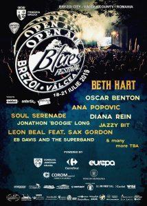Open Air Blues Festival Brezoi – Vâlcea 2019
