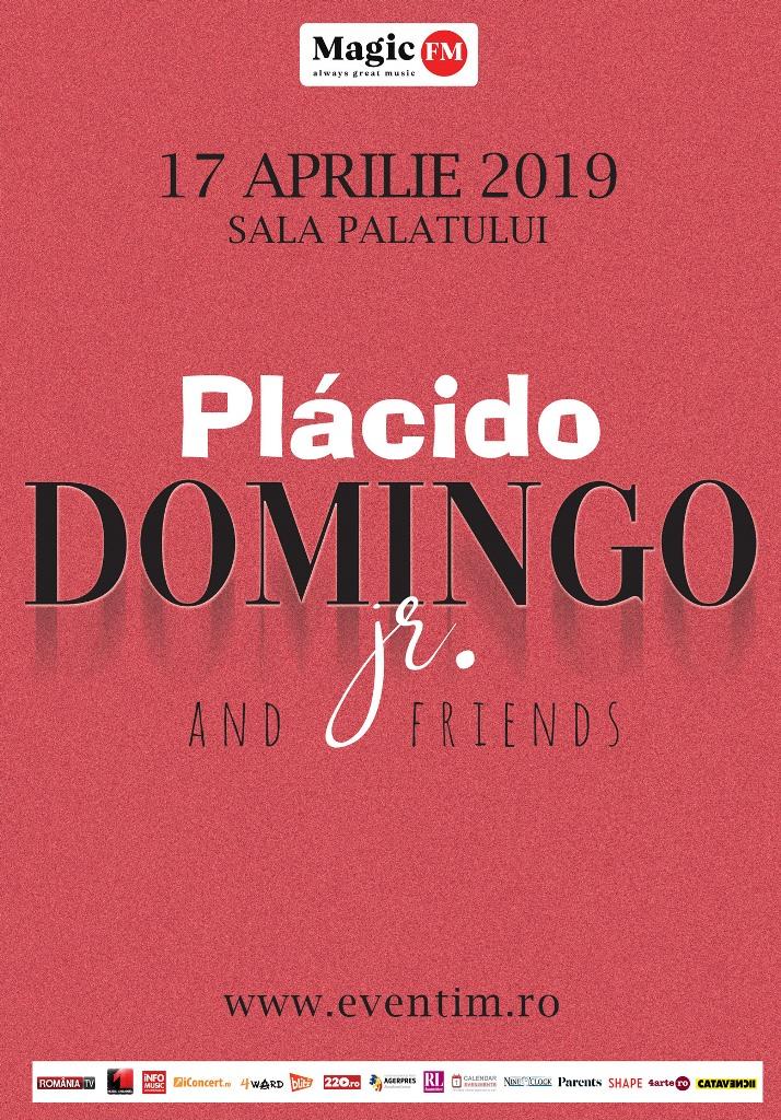 Plácido Domingo Jr. concertează pentru prima dată în România in 2019