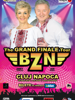 BZN • The Grand Finale Tour • 22 iunie 2019, Sala Polivalenta, Cluj-Napoca