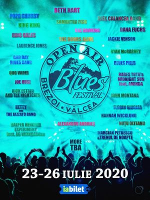 Open Air Blues Festival Brezoi - Vâlcea 2020
